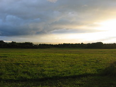 Ithaca Skies Aug 30 (inklings and imprints) Tags: sunset sky cloud ny newyork clouds landscape skies formation vista ithaca formations inkandescence inklingsandimprints