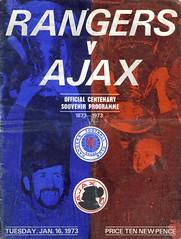 Rangers v Ajax 1973016 (tcbuzz) Tags: cup club scotland football glasgow scottish super premier rangers winners uefa league ibrox programmes stadijm