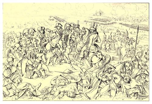 004-Campo de batalla de Eylau 8 de Febrero de 1807-The Napoleon gallery 1846