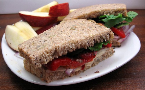 Red Pepper Sandwich