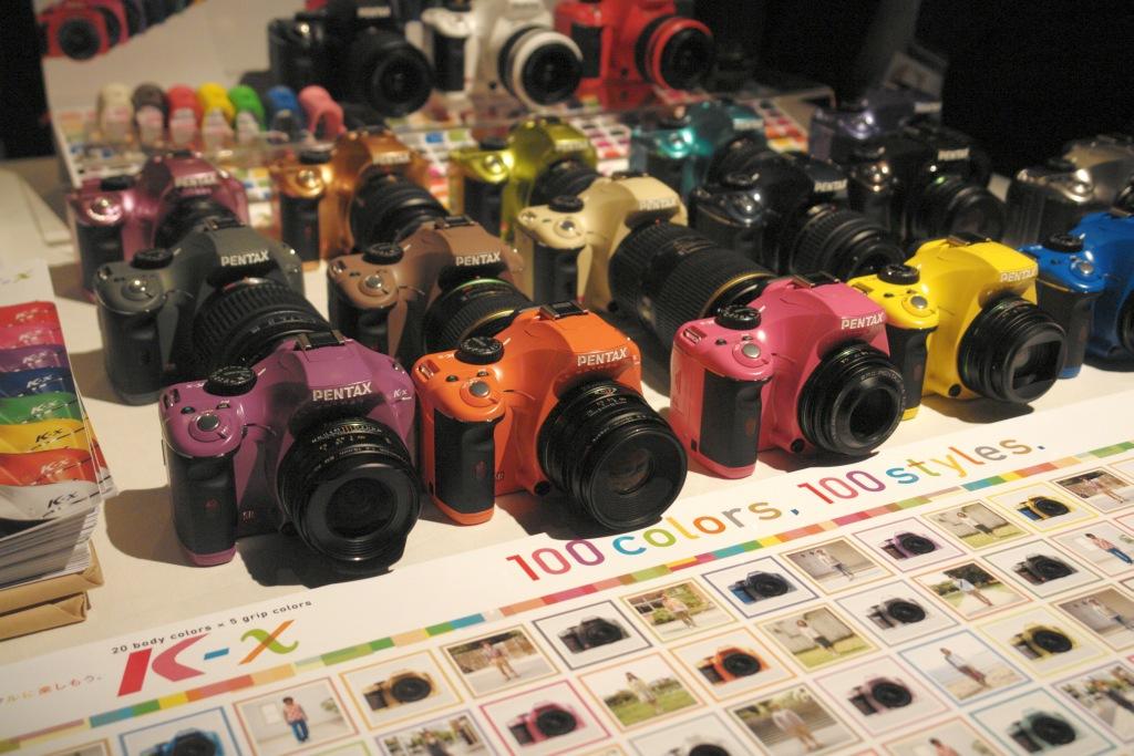 100 colors! pentax K-x demo @ Photographers Summit 5