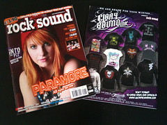 Rocksound Magazine (Suck! Clothing) Tags: rocksound glorybound suckclothing