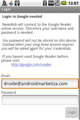 credenciales google cuenta en Android
