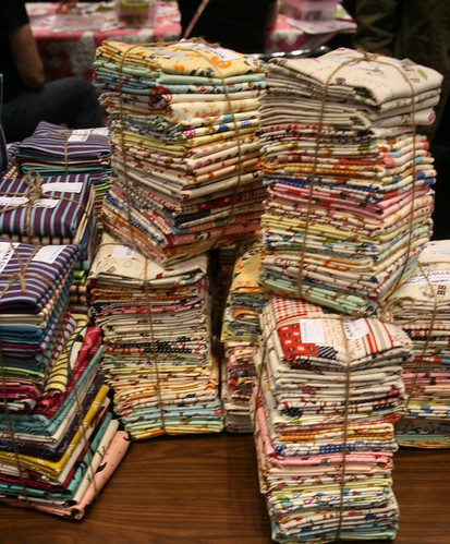 Japanese Fabric at the Sample Spree