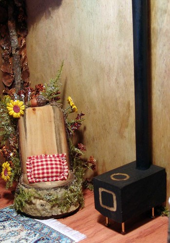 Miniature Dollhouse Fairy Woodstove
