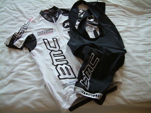 Assos BMC Pro Team Jersey and Shorts