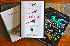Three of this year's books on evolution