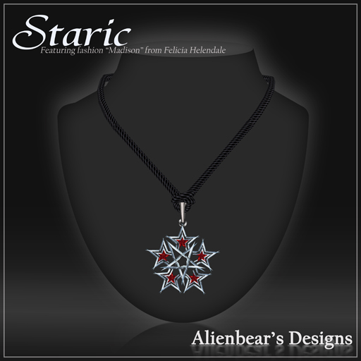staric red necklace