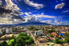 (EXPLORED) Chiang Mai.. (Hamad A. Alajmi - www.Q8italk.com) Tags: building clouds canon skyscape thailand sigma bluesky chiangmai 1020 hamad hotelview sigma1020mm 50d canon50d alajmi hamadalajmi