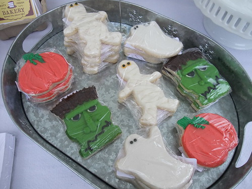 Monster Cookies from Sassafras Bakery 10/24/09