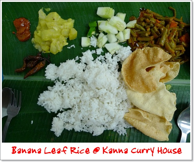 Banana Leaf Rice @ Kanna