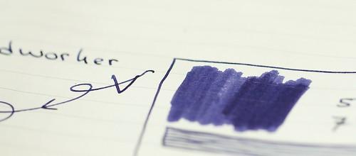 Sailor Jentle Ink Shigure Purple