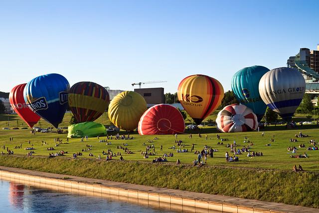 Oro balionai Vilniuje
