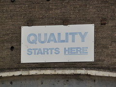 Ford - Quality Starts Here by lydia_shiningbrightly, on Flickr