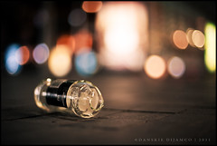 Booze (Danskie.Dijamco.Photography) Tags: street nightphotography glass drunk 50mm lowlight nikon bokeh streetlights low brokenglass alcohol booze britomart highiso lowangle lowlightphotography nikon50mmf14 toodrunk britomarttrainstation nikond700 danskie danskiedijamcophotography