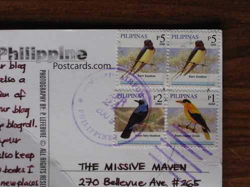 Philippines bird stamps