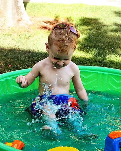 Swimming May 2009