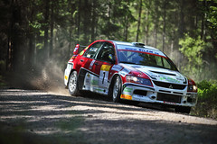 south swedish rally (Sebastian Marko) Tags: evo motorsport drift sebastianmarko 5dmkii southswedishrally