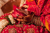 Possessioning the values Indian bride carrying