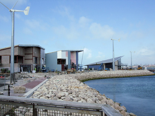 The Rodwell Trail - Weymouth To Portland: 2012 Olympic Sailing Venue Under Construction.