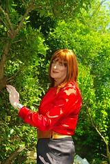 More lush greens (Julie Bracken) Tags: old red portrait fashion hair tv cd mini skirt crossdressing tgirl transgender mature tranny transvestite crossdresser crossdress kinky tg trannie mtf m2f feminized enfemme xdresser tgurl feminised transsister julieb85