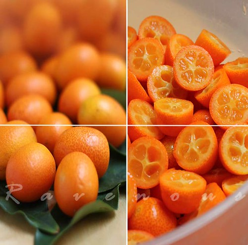 spiced candied kumquats