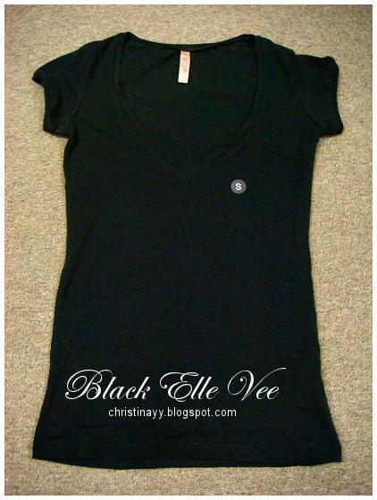 Cotton On: Black Elle Vee
