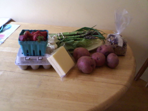 First week of my farm share (by kwbridge)