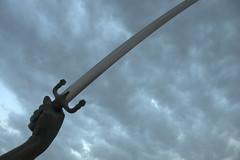 Crossed swords (lrmahmood) Tags: iraq baghdad saddam swords 18200 d90