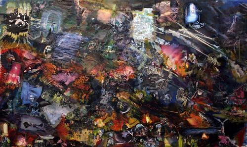 R.Ychai_collage_l enfer_ by R. Ychai