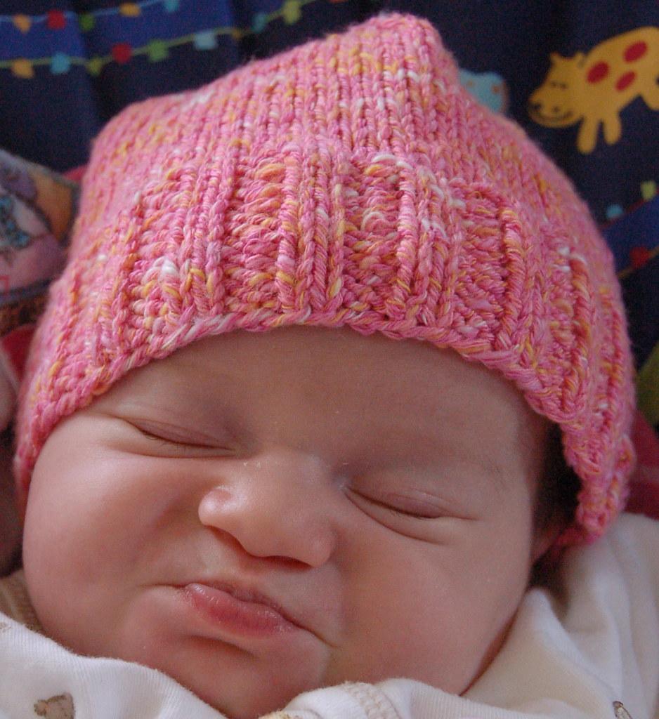 Artful Yarns Candy baby hat