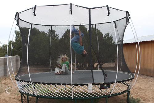 Trampoline Jumping