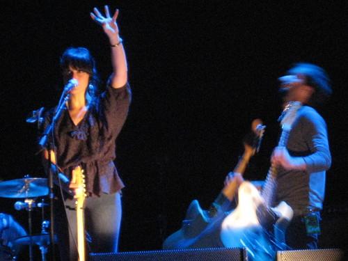 Howling Bells in Des Moines 6/12/09 @ Wells Fargo Arena