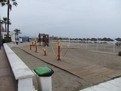 DSCF1097 (Ginatunet) Tags: praia strand spain sommer playa 2009 ferie fuengirola lek spania sommeren leker syden lekeplass