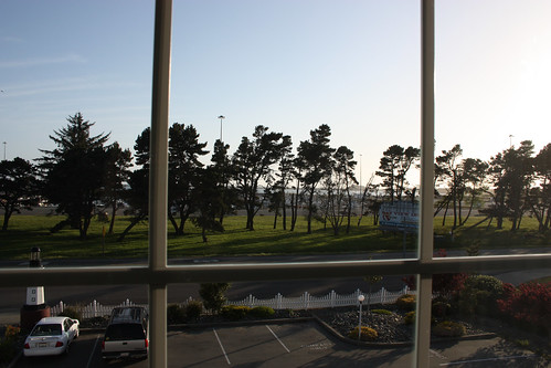 View from our window at the Light House Inn