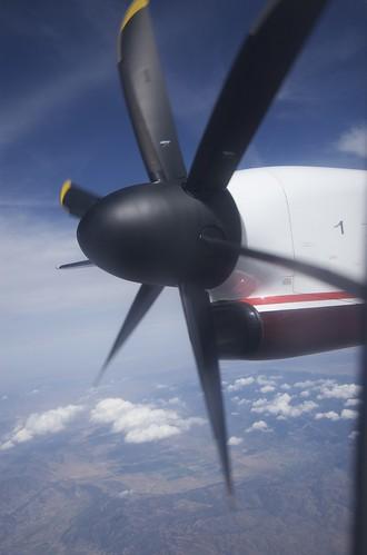 ...slow propeller.