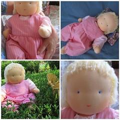 Waldorf baby doll (40 cm)  - (alja8) Tags: dolls handmade waldorf softdoll waldorfdoll steinerdolls fabricdolls waldorfpuppe childrensdolls waldorfpuppen waldorftoys  cottondolls bambolawaldorf alja8sdolls