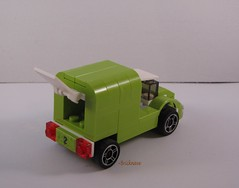 Limeade Delivery Truck Back View 2