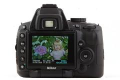 Nikon D5000 - Back