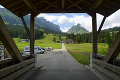 Blick vom Eriztal ins Justistal (W***) Tags: berg br brücke wandern wanderung berneroberland eriz brcke jusistal