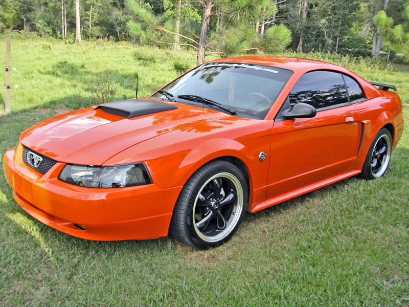 04 Mustang Gt >> Fs 04 Mustang Gt Comp Orange