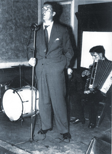 Jock Stein, Miners' Hall, 1959.