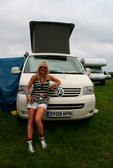 Jo Whiley at Glastonbury 01 (VW Escape) Tags: california camping music festival vw volkswagen cool escape glastonbury jo vans campervan whiley