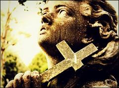 b Li  n D (Steven Eric Parker) Tags: death apocalypse ruin graves flickrmeet tombs yorkcemetery apocalypsefriday