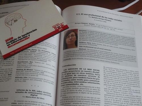 Natalia Arroyo en el Anuario ThinEpi