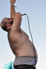 Fucked Up (eatsdirt) Tags: brooklyn concert gig livemusic williamsburg fuckedup poolparties williamsburgwaterfront jellynyc thepoolparties poolparties2009 lastfm:event=1057869
