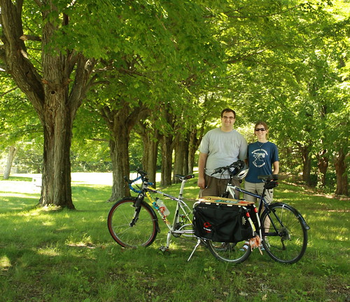 Before the Holden Rail Trail Ride