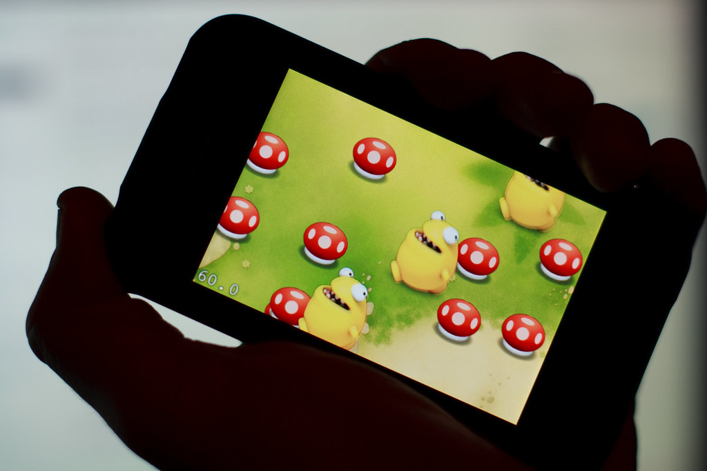 Get Set Games' First iPhone Game, Running on the iPhone