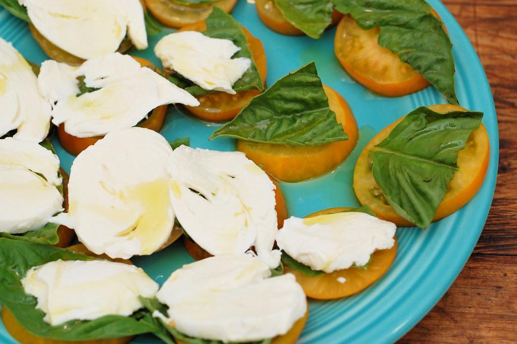 i love fresh mozarella