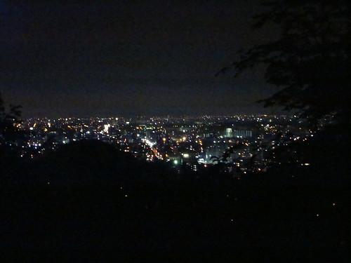 山からの夜景